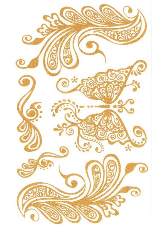 Flash Tattoo - Goddess Insignia Temporary Flash Tattoo