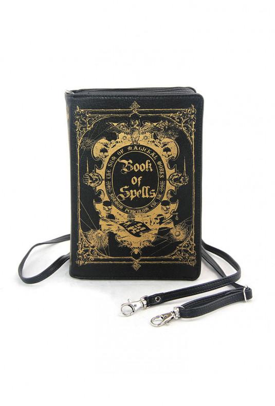 Book of Spells Clutch Bag