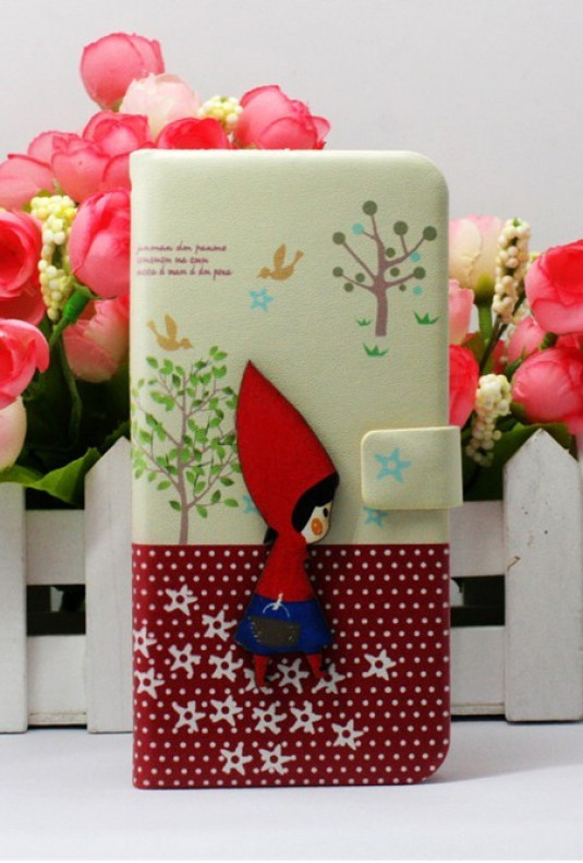 iPhone Case - Eclectic Artistry iPhone 5 Case in Red Riding Hood
