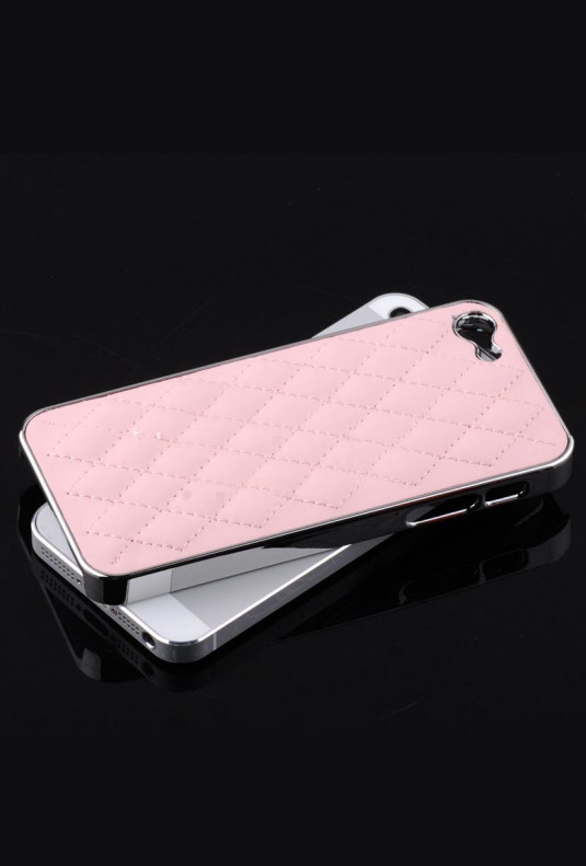 iPhone Case - Madame Matelasse Quilted iPhone 5 case in Dream Pink