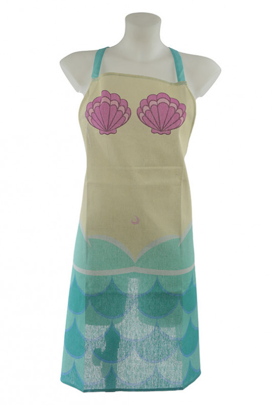 Mermaid Body and Tail Apron