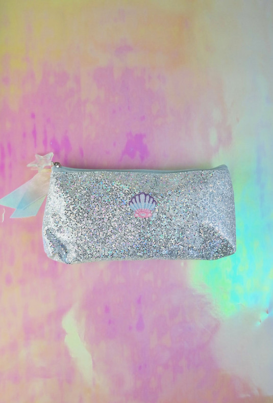 Mermaid Glitter Makeup/Pencil Bag