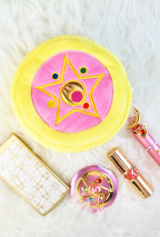 Sailor Moon makeup bag