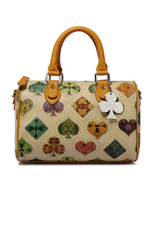 Satchel - Monogram Satchel Handbag