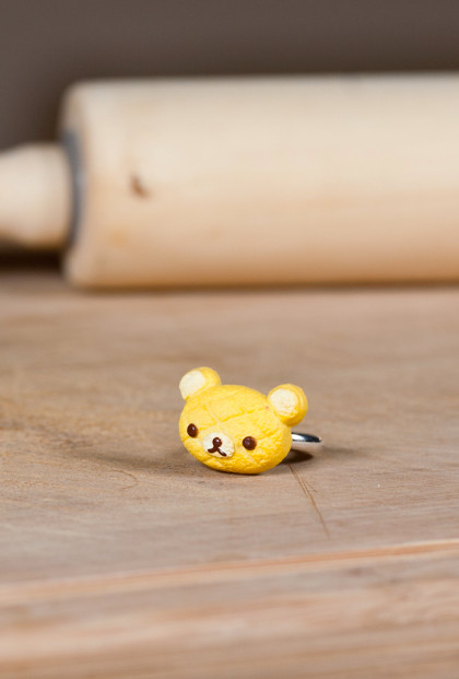 Rings - Bakery LIMITED Edition Rilakkuma Pastry Charm Ring