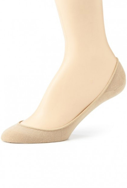 Daily-Comfort-No-Show-foot-Liner-Socks-Beige