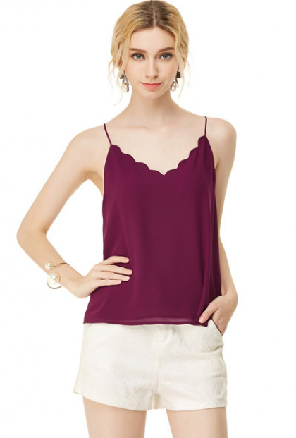 dainty-habits-scallop-v-neck-top-wine