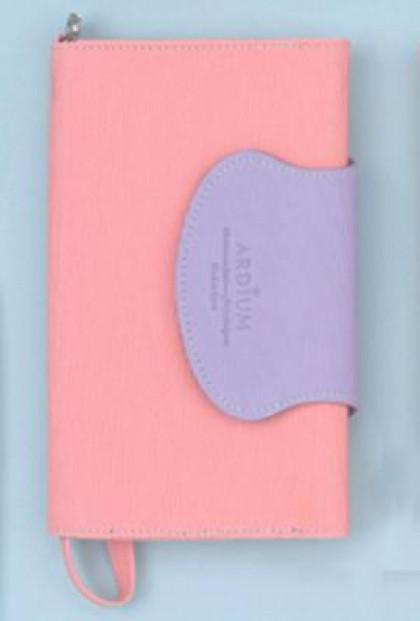Pink Lavender Wristlet