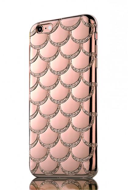 Mermaid Scale iPhone 6 Case in Pink