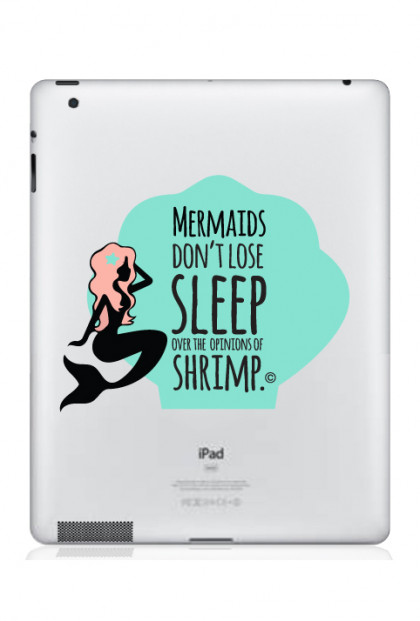 mermaid iPad decal