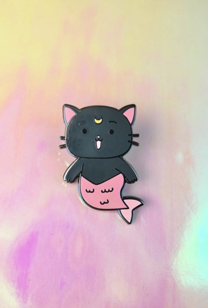 Mermaid Luna Sailor Moon Enamel Pin