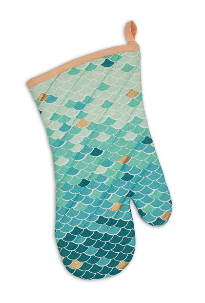 Mermaid Scale Oven Mitt