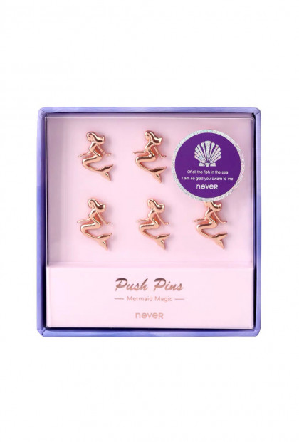 Mermaid Push Pin Set