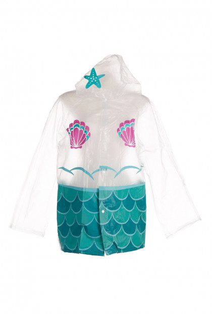 Enchanted Mermaid Adult Raincoat