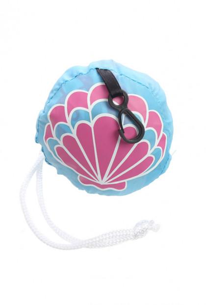Mermaid Seashell Foldable Reusable Bag