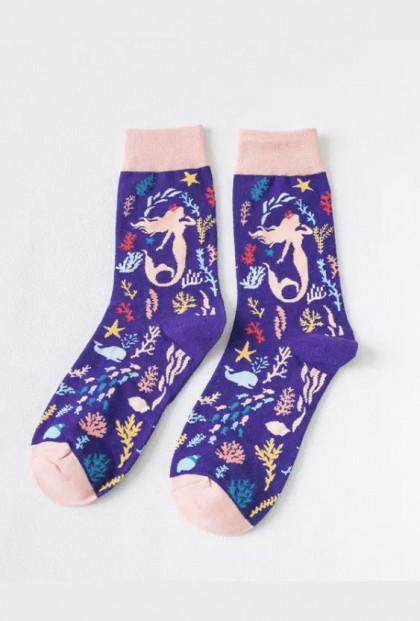 Mermaid Sea Crew Socks