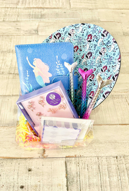mermaid stationary gift box