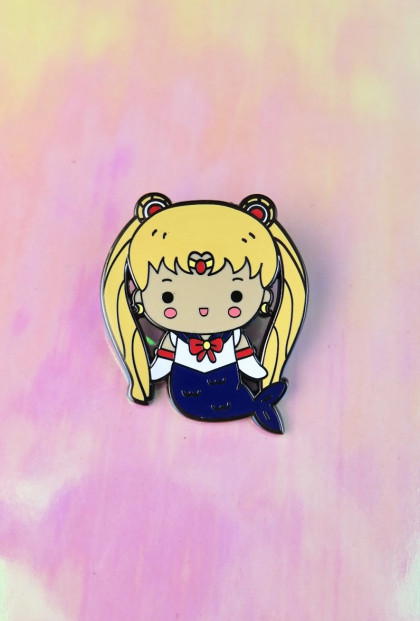 Mermaid Usagi Sailor Moon Enamel Pin