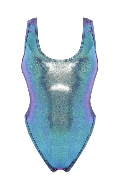Spellbound Siren Holographic One Piece Swimsuit