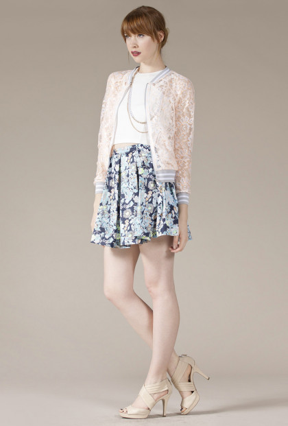 cute Chic Lace Jacket