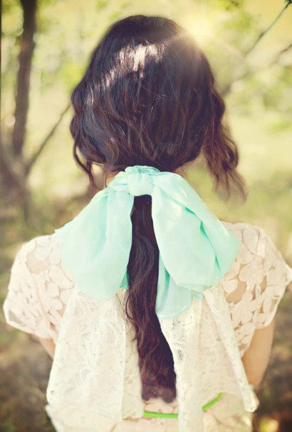 Spring Mint Scarf