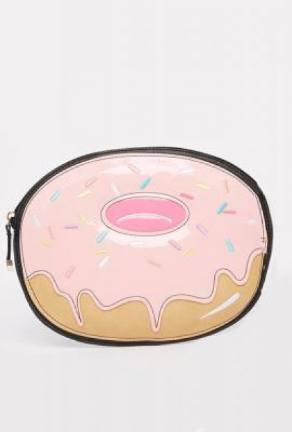 donut clutch purse