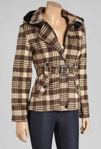 Tartan Brown Plaid Jacket