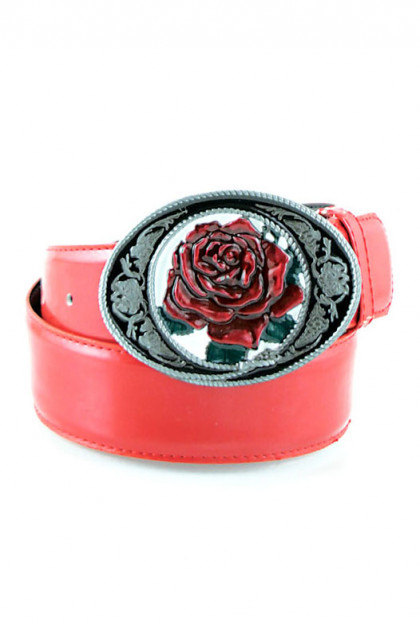 Red Rose belt