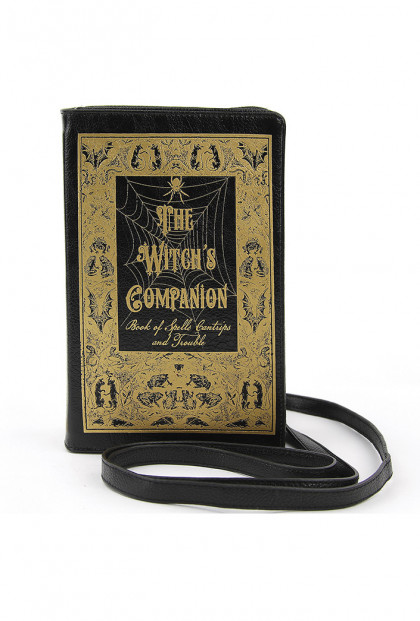 Witch's Companion Book Clutch