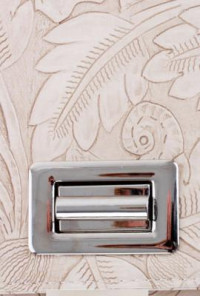 Flat Ivory Clutch