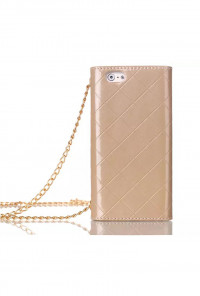 iPhone 6 Plus Wallet Gold Wristlet