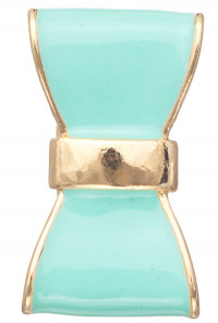 Mint Rings - Cute Daily Lacquered Bow Ring