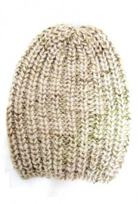 Chunky Heathered Knit Beanie