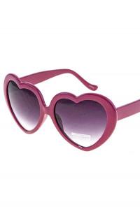 Sunglasses - Almost Famous Heart Shaped Wine Sunglasses