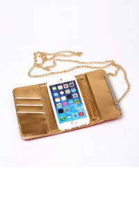 Fuchsia Wallet Wristle