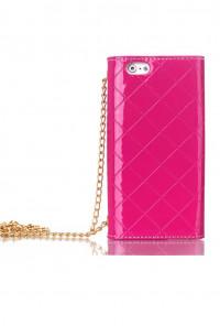 iPhone 6 Plus Fuchsia Wallet Wristlet