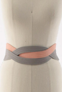 Belt - Forever Entwined Braided Multi Color Belt