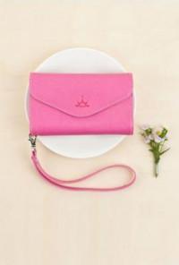 Magenta Wallet Wristlet