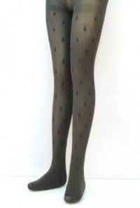 Anchor-Ashore-Anchor-Print-Pantyhose