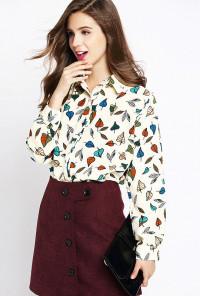 autumn blouse