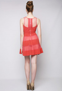 Red Birthday Bash Sleeveless Skater Dress