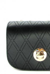 Chain Strap Noir Purse