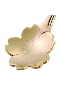 cherry blossom teaspoon