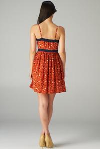 Sweetheart Heart Print Dress