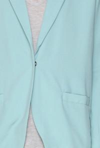 cute Mint-Blue-Blazer