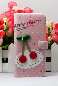 iPhone Case - Eclectic Artistry iPhone 5 Case in Cherry on To