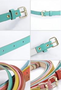 Skinny Belts by Elf Sack - Teal Belt
