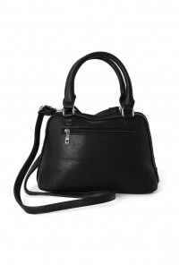 Cat Black Satchel Handbag