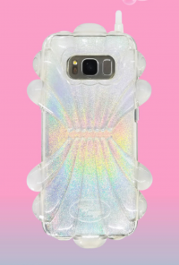 Shellfish Holographic Cell Phone Case in Iridescent