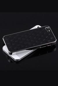 iPhone Case - Madame Matelasse Quilted iPhone 5 case in Elegant Black